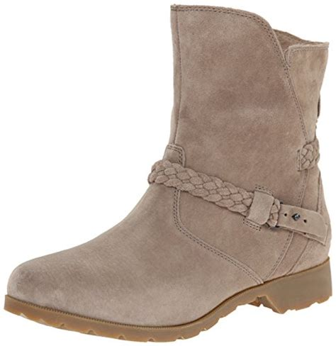 teva s delavina suede boot ankle boot