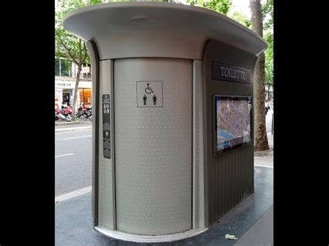 self cleaning bathroom san francisco fully automatic and self cleaning public toilet in paris