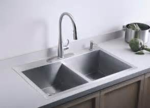 basin kohler kitchen sink contemporary kitchen