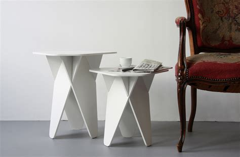 Rok Printing 3d Wedges Import wedge side tables by andreas kowalewski