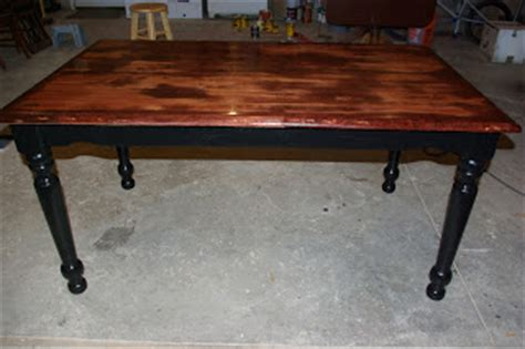 Distressed Black Kitchen Table Reclaimed Rustics Distressed Kitchen Table