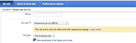 adsense responsive ads learn about the new adsense responsive ad unit