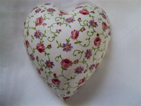 decoupage hearts ceramic decoupage miss rosy white