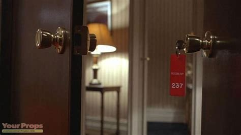 the shining hotel room number the shining room 237 keychain replica prop
