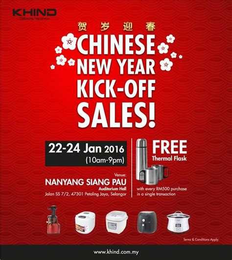 new year malaysia sale khind new year knock sales