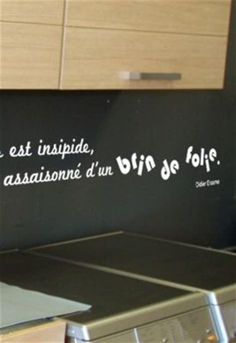 Solde Cuisine 2057 by Sticker Citation Un Repas Est Insipide S Il N Est