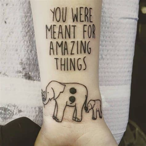 tattoo quotes for mental health 85 inspiring semicolon tattoo ideas that you will love