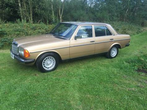 mercedes 230e w123 for sale w123 230e now sold thanks sold 1984 on car and classic