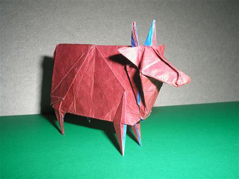 Origami Cow - origami cow comot