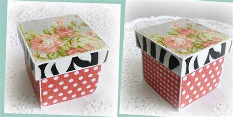 Decoupage On Cardboard - decoupage cardboard box decoupage fever my decoupage