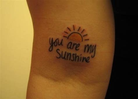 you are my sunshine tattoos tattoos my and you are my on
