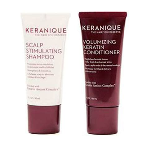 where to buy keranique hair product keranique volumizing keratin shoo and conditioner