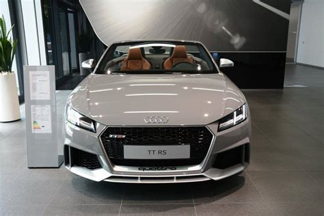 nardo grey truck 2017 audi tt rs roadster shows nardo gray paint at audi