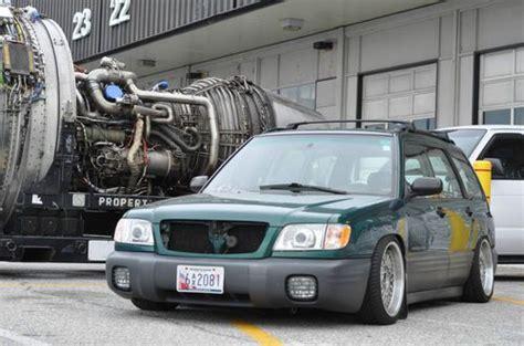 subaru forester air suspension sell used 2001 subaru forester rwd drift pig roll cage air
