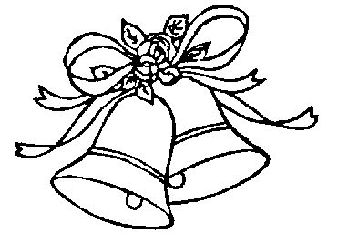 wedding bells clipart black and white wedding bell pics clipart best