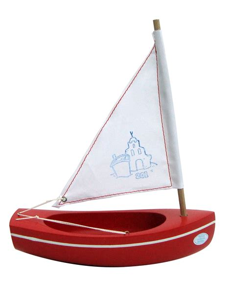 small boat toy small toy boat 201 sandcastle red 20cm little french
