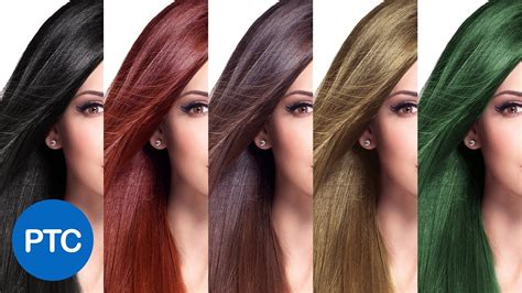 hair colors pictures how to change hair color in photoshop including black