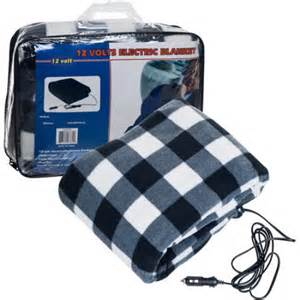 Dfw Cer Truck Accessories Trademark Plaid Electric Blanket For Automobile 12 Volt