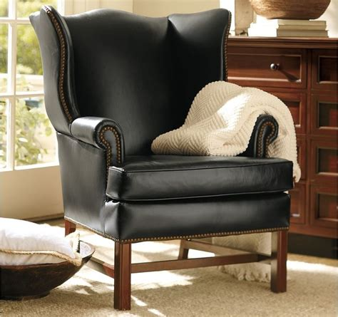 traditional leather wingback chair thatcher leather wingback chair traditional armchairs