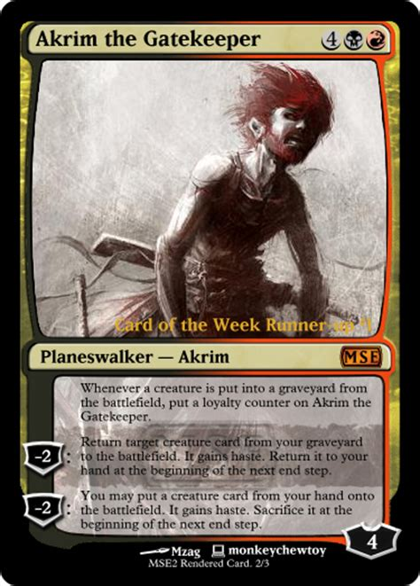 arena of the planeswalkers card templates mse infect planeswalker the of many cards to come