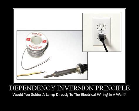 design pattern yagni matthew jones the dependency inversion principle solid