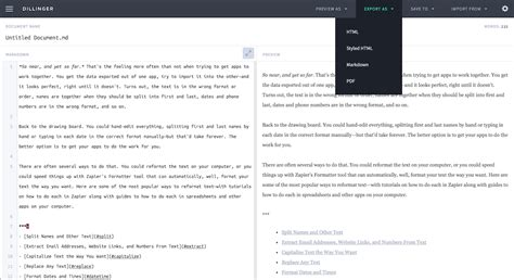 markdown template vincent s reviews how to automatically convert markdown