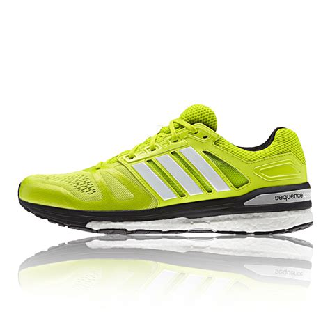 adidas road running shoes adidas supernova sequence 7 mens green sneakers support