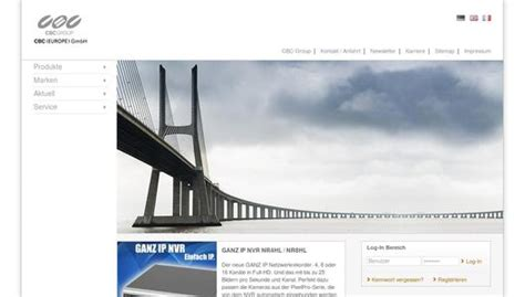Cctv Di Lung ganz pixelpro modellpflege f 252 r ip kameras cbc europe gmbh pressemitteilung