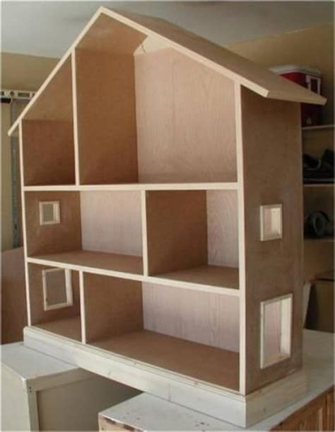 how to make a wooden dolls house wooden barbie doll house bing images projects pinterest