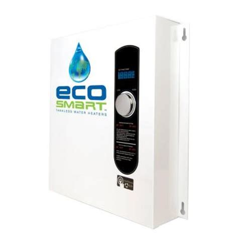 ecosmart 11 kw 2 14 gpm self modulating electric tankless