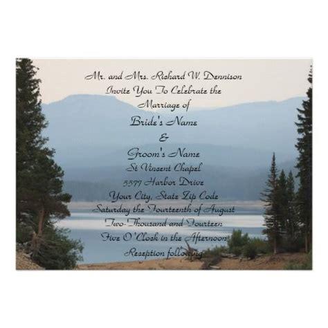 344 best lake wedding invitations images on bridal invitations masquerade wedding