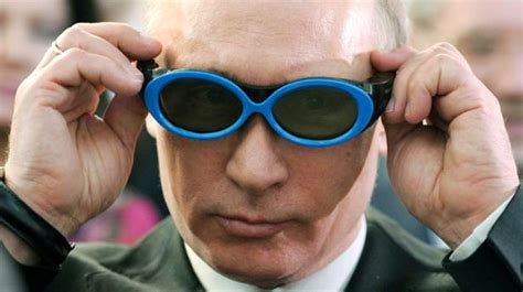 Put On Sunglasses Meme - translation is putin a kgb agent a hipster or a mensch