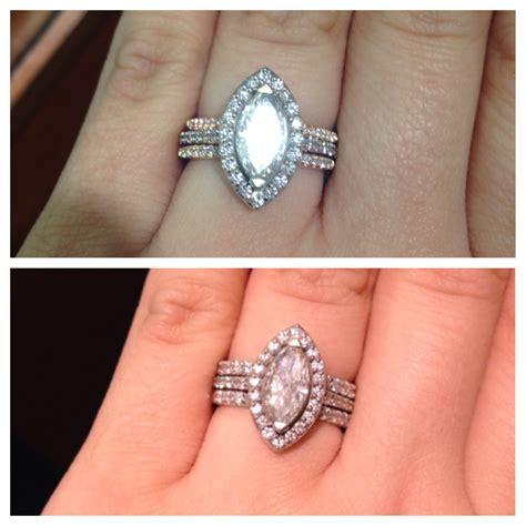 wedding rings ring wrap ring enhancer for princess cut