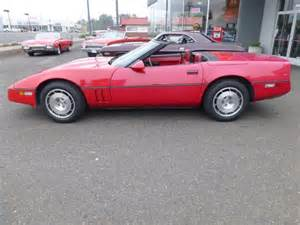 1986 Chevrolet Corvette Value 1986 Chevrolet Corvette Convertible For Sale Usa