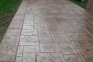 Stamped Patio Designs by Stamped Concrete