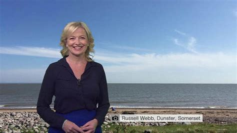Carol From The Office by Exclusive Is Carol Kirkwood Out Of A After Met Office