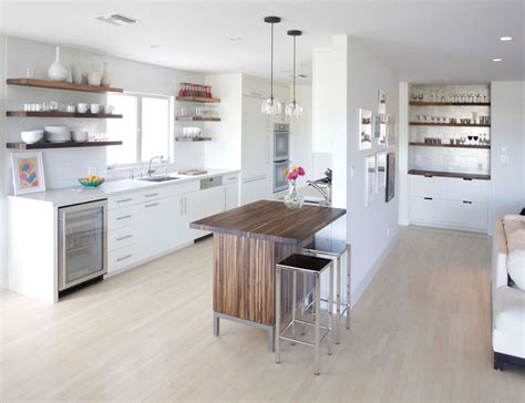 10 sparkling kitchens with open shelving kitchen design idea 19 exles of open shelving