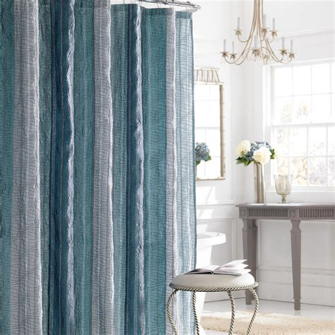 curtains shower beddingstyle manor hill sierra sapphire shower curtain