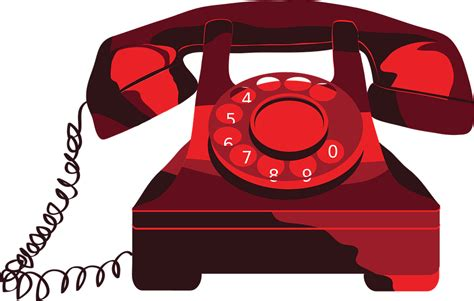 clipart telefono free vector graphic phone vintage vectors free
