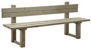 banc de jardin en bois trait 233 autoclave