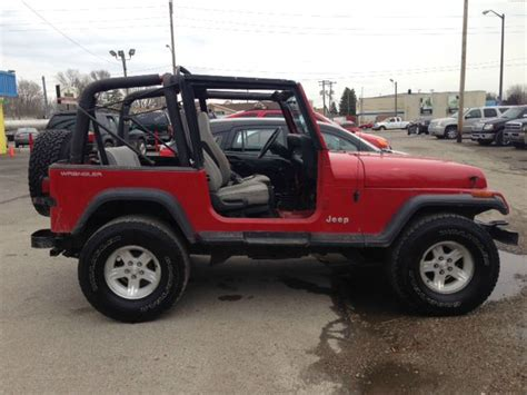 1993 Jeep Wrangler For Sale Used 1993 Jeep Wrangler For Sale Carsforsale