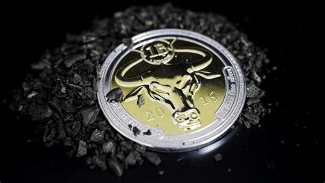 bitcoin btc denarium launched a new 1 btc silver golden edition coin