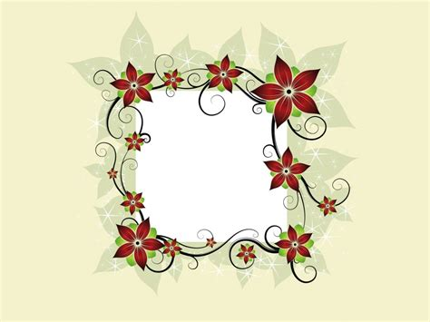 template that says cards flowers flower design card backgrounds border frames design