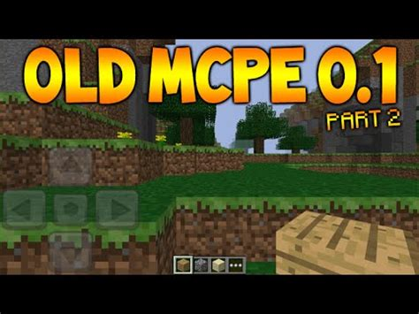 what is the full version of minecraft pe minecraft pocket edition version 0 1 old mcpe versions