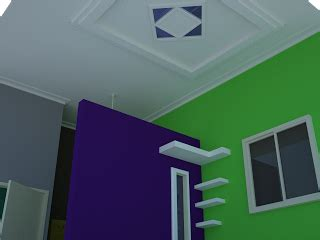 contoh gambar desain plafon teras rumah model minimalis