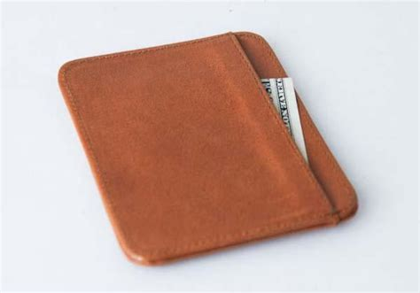Leather Wallet Handmade - the handmade ultra slim leather wallet gadgetsin