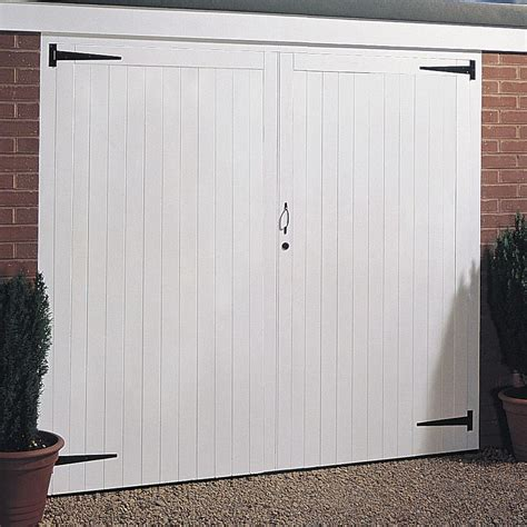 mieterhöhung garage side hung garage door pair h 1981mm w 2134mm