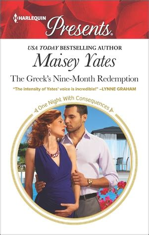 the consequence she cannot deny harlequin presents books review the greek s nine month redemption by maisey yates