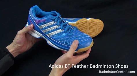 Sepatu Badminton Adidas Bt Boom adidas bt feather badminton shoes look