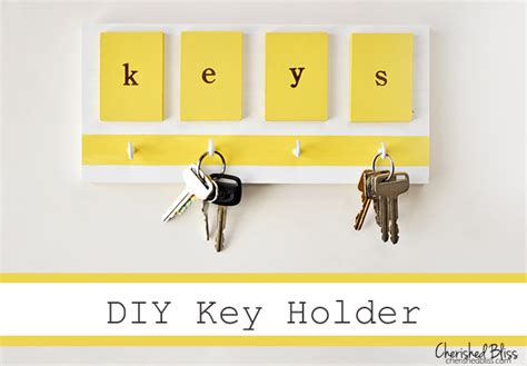 Do Yourself Key Rack by Diy Key Holders With Minimal Designs And Lots Of Charm